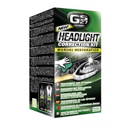 Headlight Correction Kit - Manual Restoration